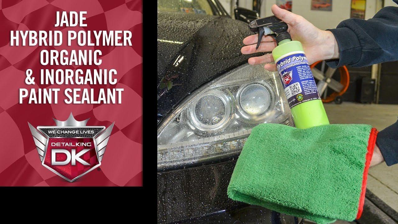 Hybrid Polymer Organic & Inorganic Paint Sealant