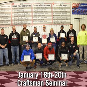 January 2019 Craftsman Auto Reconditioning Seminar
