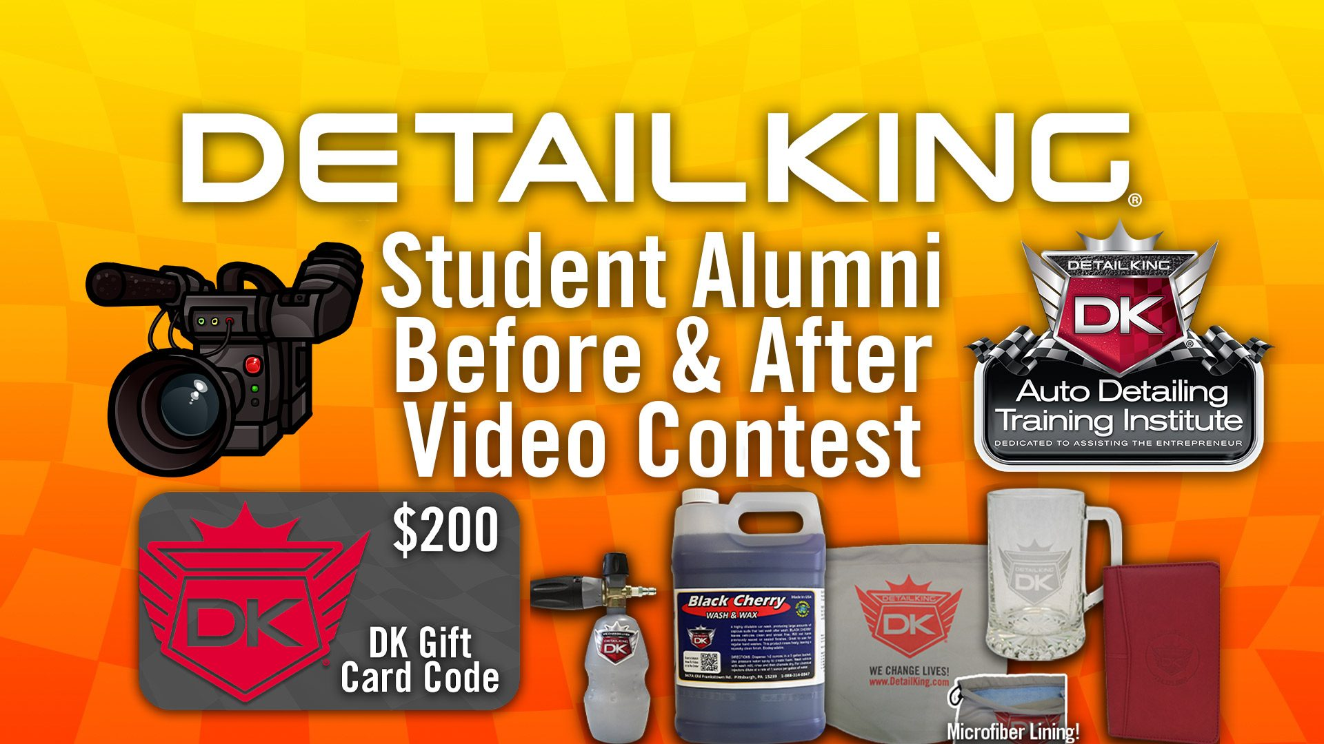Detail King Student Alumni Before & After Video Contest