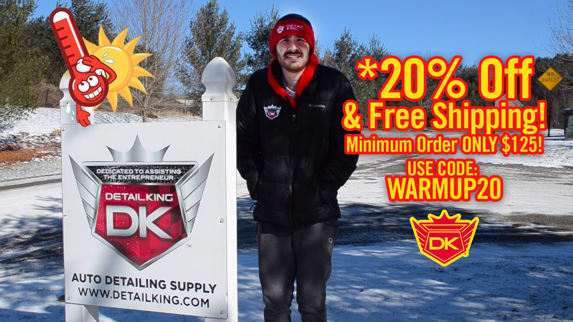 Winter Warm Up Sale! – *20% Off & Free Shipping on Most DK Products! – Friday THRU MONDAY!