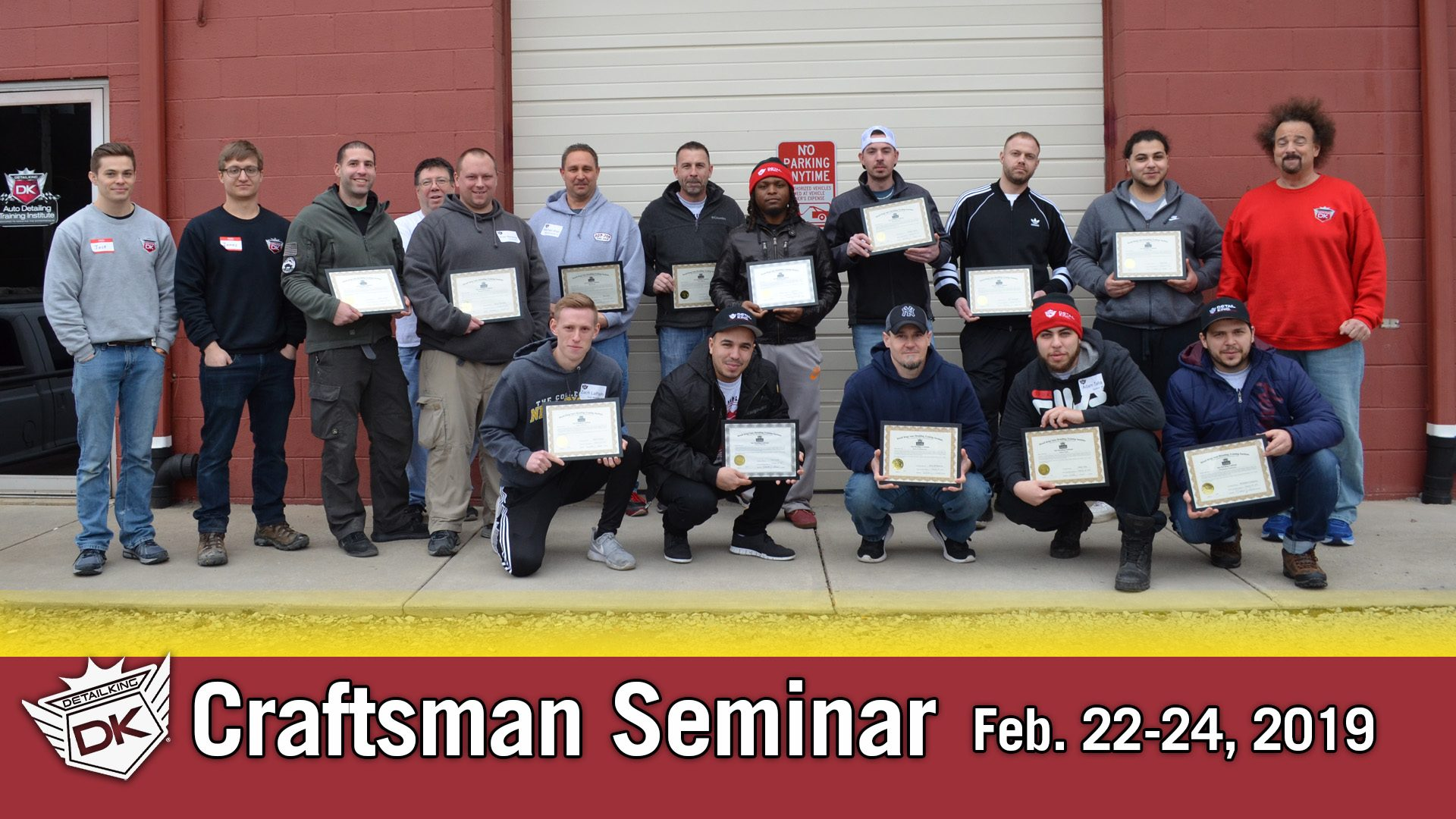 February 22nd – 24th 2019 Craftsman Auto Detailing Training Seminar