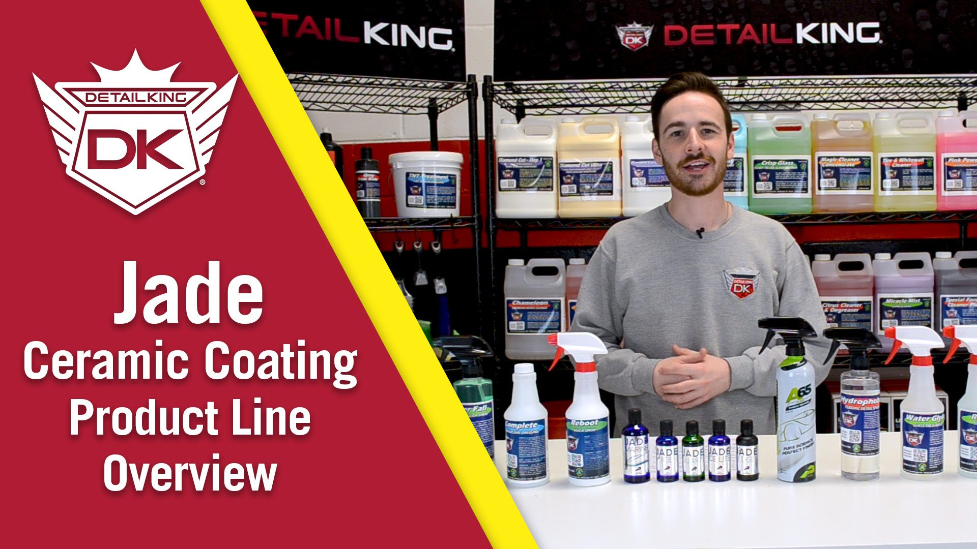 Jade Ceramic Coating Product Line Overview