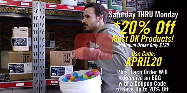Early Easter Egg Sale! – *20% Off Most DK Products
