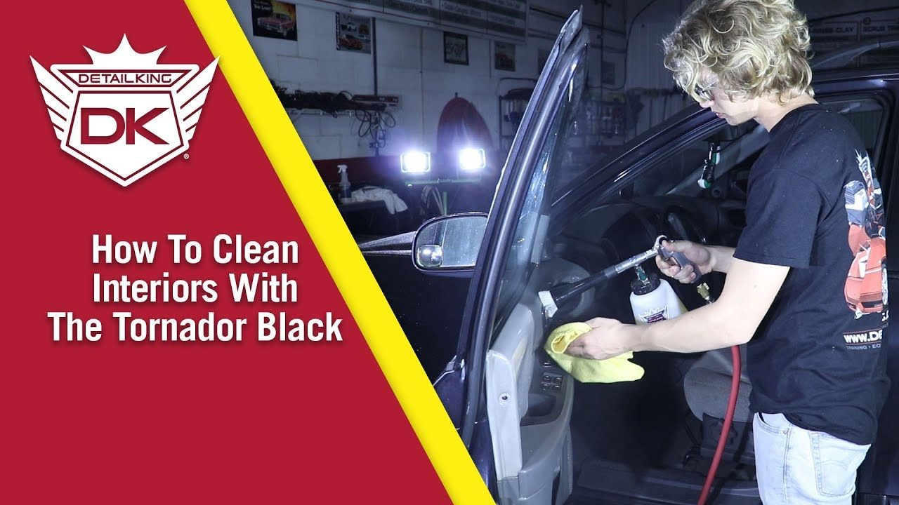How To Clean a Car's Interior with the Tornador Black