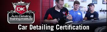 Car Detailing Certification