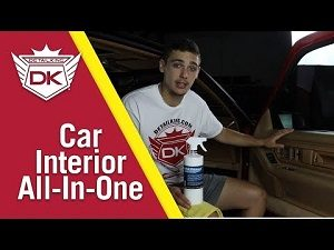 Car Interior Vinyl Cleaner & Dressing in One