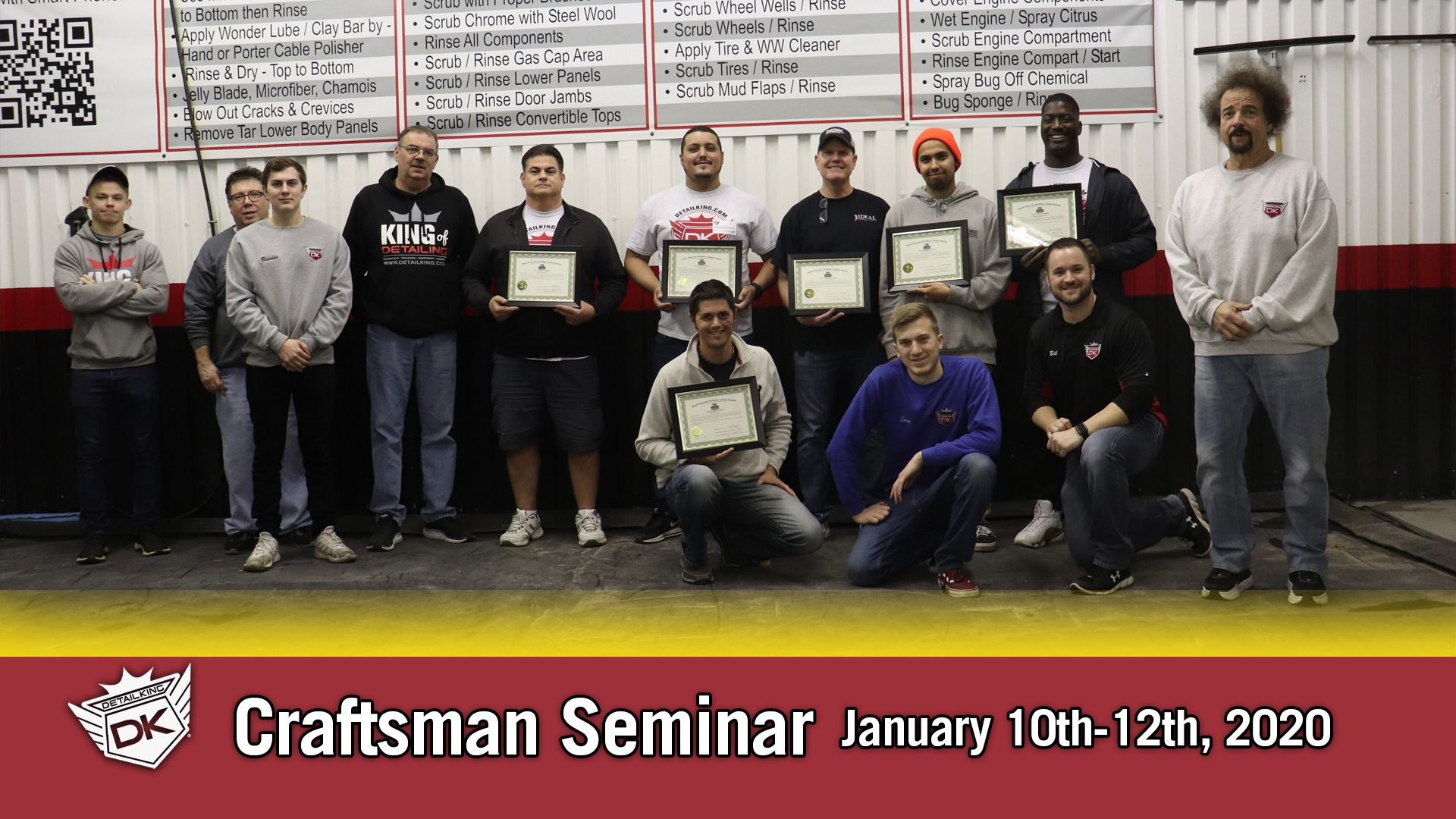 January 2020 Craftsman Seminar