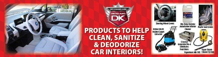 Interior Sanitizing and Deodorizing