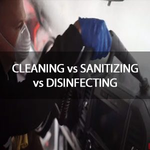 CLEANING vs SANITIZING vs DISINFECTING (How To)